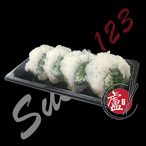 Foto Green Veggie Roll 4 Pieces